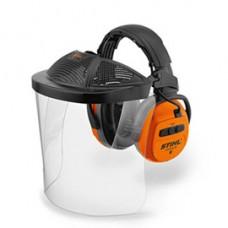 Stihl Gehoorbeschermer met Bluetooth® DYNAMIC BT-PC Met vizier van polycarbonaat